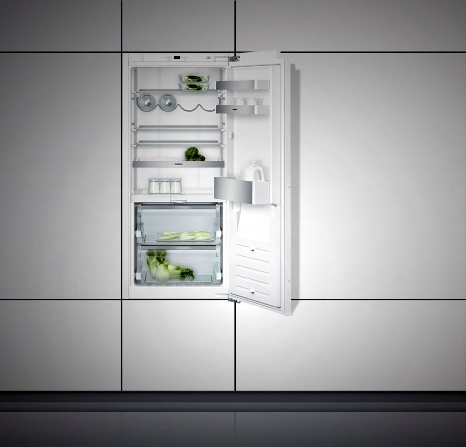 Refrigerator 200 series with fresh cooling close to 0 °C fully integrated Niche width 56 cm, Niche height 122.5 cm RC222101