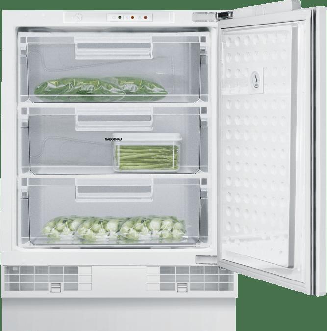 Freezer 200 series fully integrated, under-counter Niche width 60 cm, Niche height 82 cm RF200203