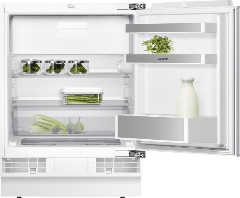 Fridge-freezer combination 200 series fully integrated, under-counter Niche width 60 cm, Niche height 82 cm RT200203