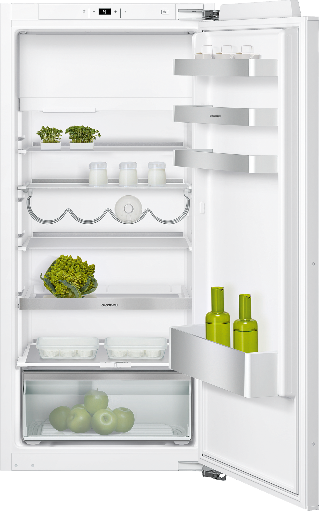 Fridge-freezer combination with fresh cooling fully integrated Niche width 56 cm, Niche height 122.5 cm RT222203