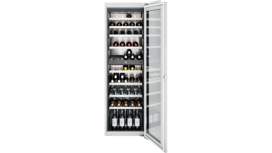 Wine climate cabinet fully integrated, with glass door Niche width 56 cm, Niche height 177.2 cm RW282262